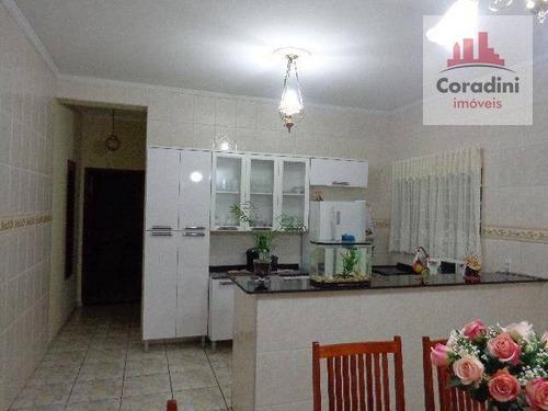 Imagem 1 de 16 de Casa Com 3 Dormitórios À Venda, 240 M² Por R$ 480.000 - Jardim Mirandola - Americana/sp - Ca0542
