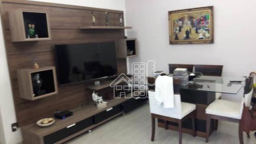 Apartamento Com 2 Dormitórios À Venda, 98 M² Por R$ 720.000,00 - Icaraí - Niterói/rj - Ap2500