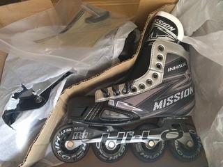 Patines Mission Inhaler Nls6 Hockey Sobre Ruedas