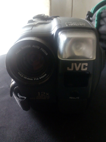 Filmadora Jvc Compact Vhs Intelligent Gr-ax417