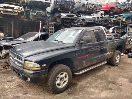 Sucata Dodge Dakota Turbo Diesel Diferencial Rodas Chassi