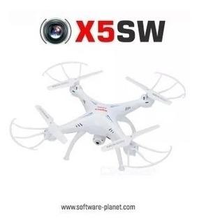 Drone Syma X5sw Con Cámara 6 Baterías Y Repuestos