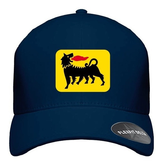 Gorra Felxfit Delta Eni Azul Amarillo Safe Refacciones 2020