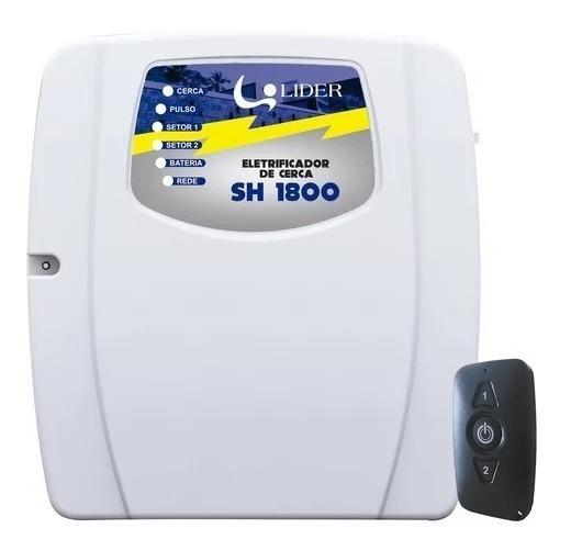 Central De Shock Cerca Elétrica Lider Sh 1800 + Controle