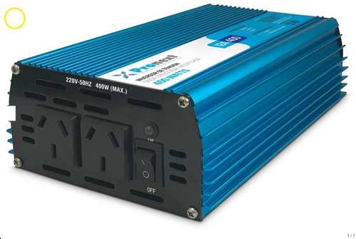 Inversor Conversor Power Inverter 24vcc A 220vca 400 W