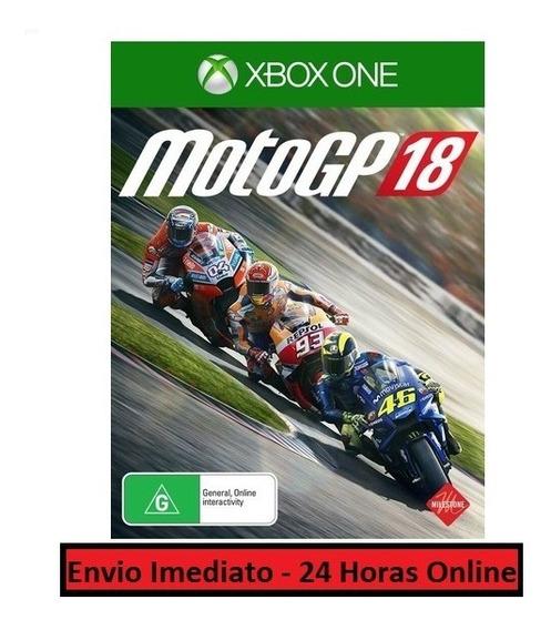 Moto Gp 18 Jogo + Todo Conteúdo Extra Xbox One Midia Digital