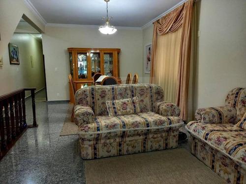 Imagem 1 de 24 de Casa Com 5 Dormitórios, 3 Suítes, 2 Vagas  À Venda, 250 M² Por R$ 1.169.000 - Aparecida - Santos/sp - Ca1890