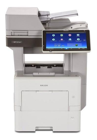 Impressora Multifuncional Ricoh Mp 501 Nova Transp Gratis