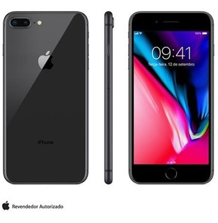 iPhone 8 Plus Cinza Espacial, Com Tela De 5,5, 4g, 64 Gb