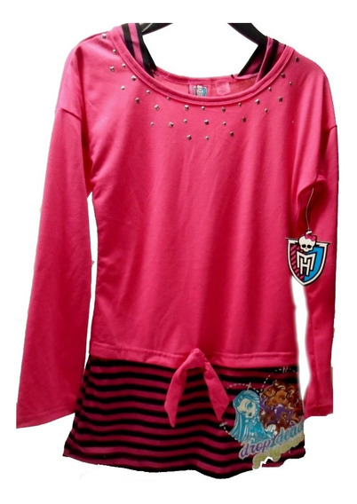 Vestido, Blusa, Remera Larga Monster Higth Original Usa