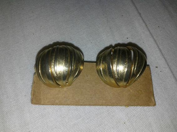 Brinco Antigo De Pressão - Dourado
