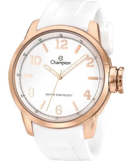Relógio Feminino Pulseira De Borracha Champion (cn29758z)