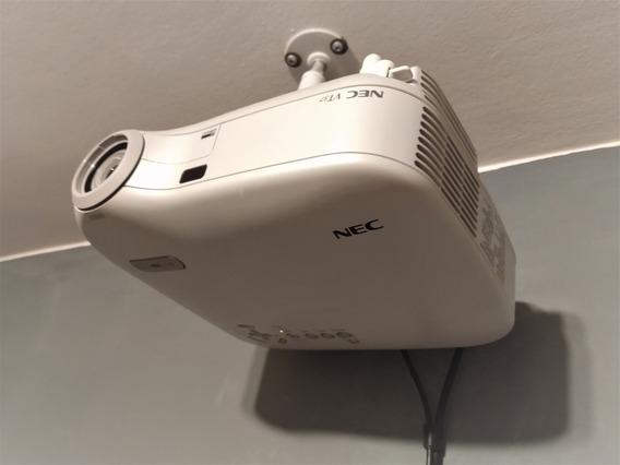 Projetor Nec Vt37 Com Suporte E Controle. Epson,benq,sony,lg