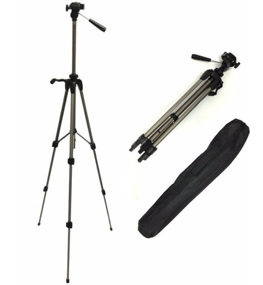 Tripe P/ Camera Digital E Filmadora 1,40mt Weifeng Wt3710