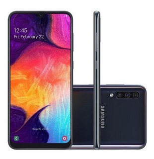 Samsung Galaxy A50 64gb Preto Semi-novo + Galaxy Fit Preto