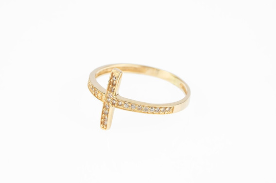 Anel Fe Ouro 18k