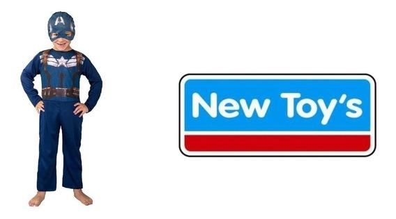 Disfraz Capitan America New Toys ® Cad2183 T2