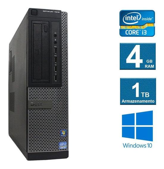 Computador Dell Optiplex 7010 I3 4gb 1tb