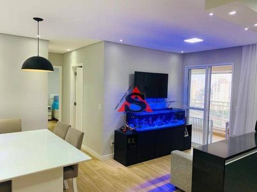 Apartamento Com 2 Dormitórios À Venda, 65 M² Por R$ 640.000,00 - Barra Funda - São Paulo/sp - Ap43165