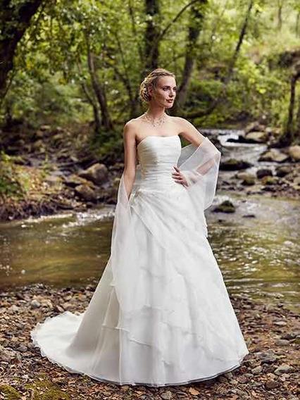 Vestido De Novia Línea Pronovias, Boda, Bride