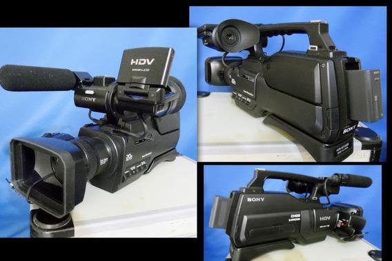 Filmadora Sony Hvr-hd1000 (semi Nova) Promoção