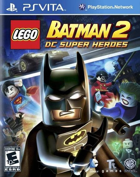 Jogo Lego Batman 2 Dc Super Heroes P Psvita Novo Midia Fisic