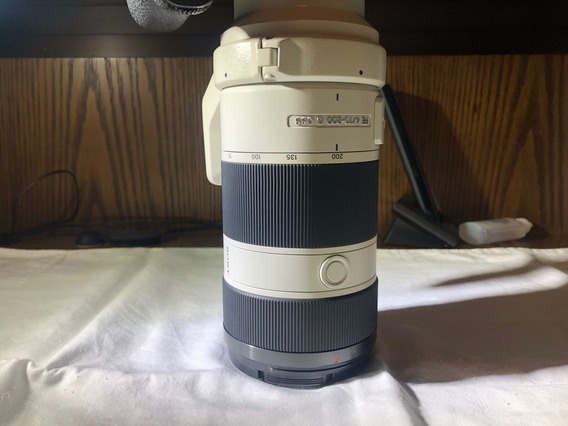 Lente Sony 70-200 F4 G Series