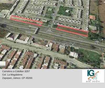 Terrenos En Renta, Av. Colotlan, $ 30.00 Peso Metro Cuadrado