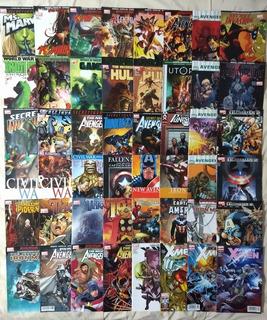 Lote De 48 Cómics De Marvel