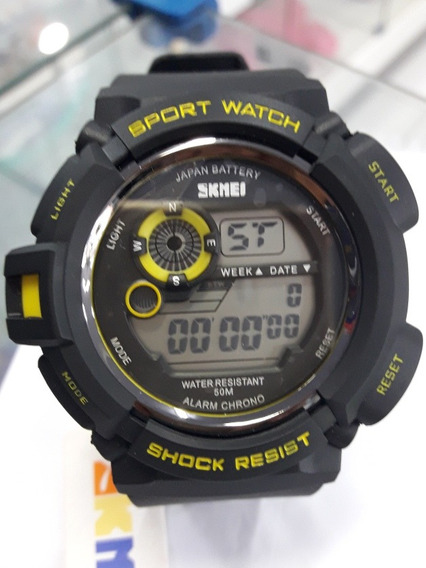 Relógio Sport Watch Militar Estilo S-shock Esporte