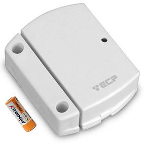 Sensor Magnético S/ Fio Ecp Intruder Portas E Janelas