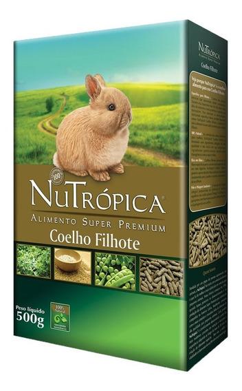 Ração Nutrópica Para Coelho Filhote - 500 G