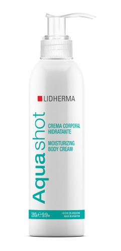 Aquashot Crema Corporal Hidratante 280g Lidherma