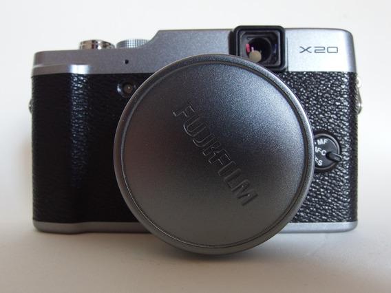 Fujifilm X20 Em Ótimo Estado Com 2 Baterias Fuji X20