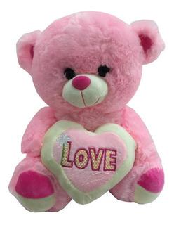 Peluche Chico Oso San Valentín Día Enamorados Barato Regalo