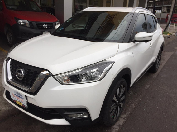 Dm Nissan Kicks Lujo 2017 Color Blanca