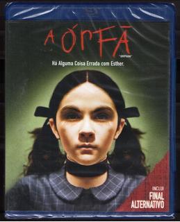 Blu - Ray A Órfã ( Inclui Final Alternativo ) - Novo Lacrado