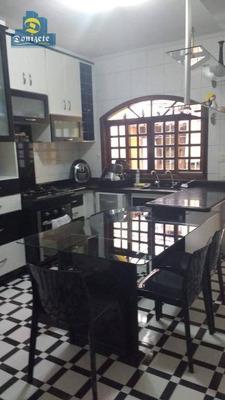 Sobrado Residencial À Venda, Casa Branca, Santo André. - So1901