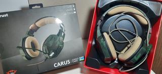 Auricular Trust Carus Usado Jungle Camo