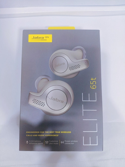 Fone Bluetooth Jabra Elite 65t | Melhor Da Categoria