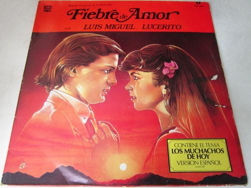 Luis Miguel Lucerito - Fiebre De Amor  Lp