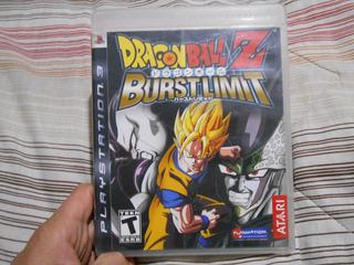 Dragon Ball Z Burst Limit Burstlimit Juegos Ps3 Dbz