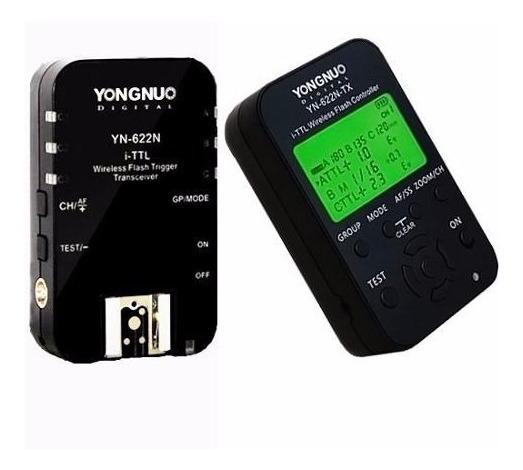 Radio Flash Yongnuo Yn 622n + 622n Tx - Para Nikon