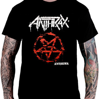 Camiseta Anthrax - Anthems (tamanho G)