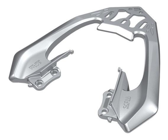Bagageiro Suporte Para Bau Cb 250 Cb250 Twister Prata Scam