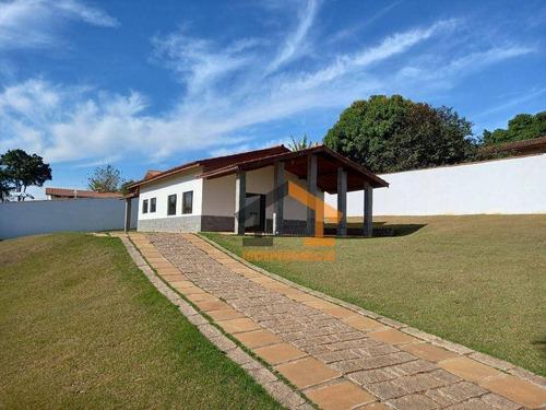 Imagem 1 de 16 de Chácara Com 2 Dormitórios À Venda, 1074 M² Por R$ 530.000,00 - Portal São Marcelo - Bragança Paulista/sp - Ch0148