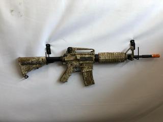 Rifle Aeg Airsoft M4a1 Desert Digital King Arms Full Metal