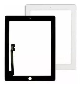 Tela Vidro Touch Ip 3 + Home + Adesivo