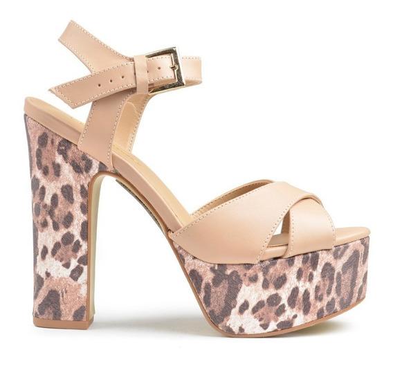 Sandalias Zapatos Noche De Mujer Vallarta Ss2020 - Ferraro
