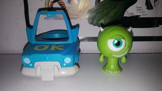 Disney Pixar Monsters Inc Mike Wazowski Spin Master Con Auto